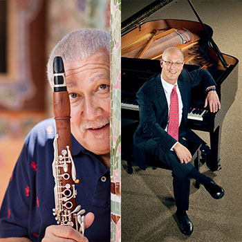 Paquito D'Rivera and Shelly Berg